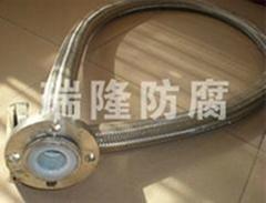 不鏽鋼編織網套四氟軟管