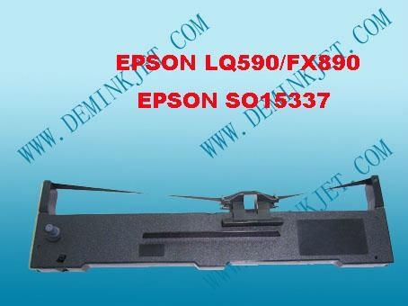 EPSON LQ590/S015337/S015585/S015589/FX890/S015329 RIBBON CARTRIDGE