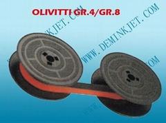 OLIVETTI GR.4/GR.8 線軸色帯