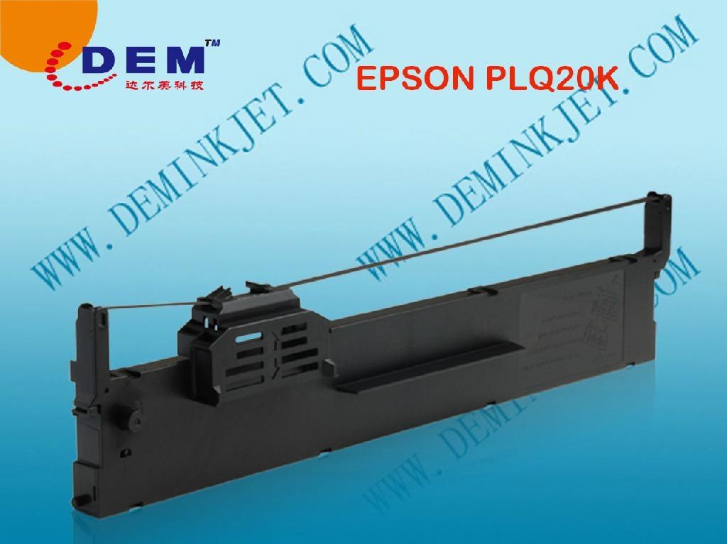 EPSON PLQ-20K/PLQ20KM/LQ90KP/S015339/S015593/S015592 RIBBON CARTRIDGE ...