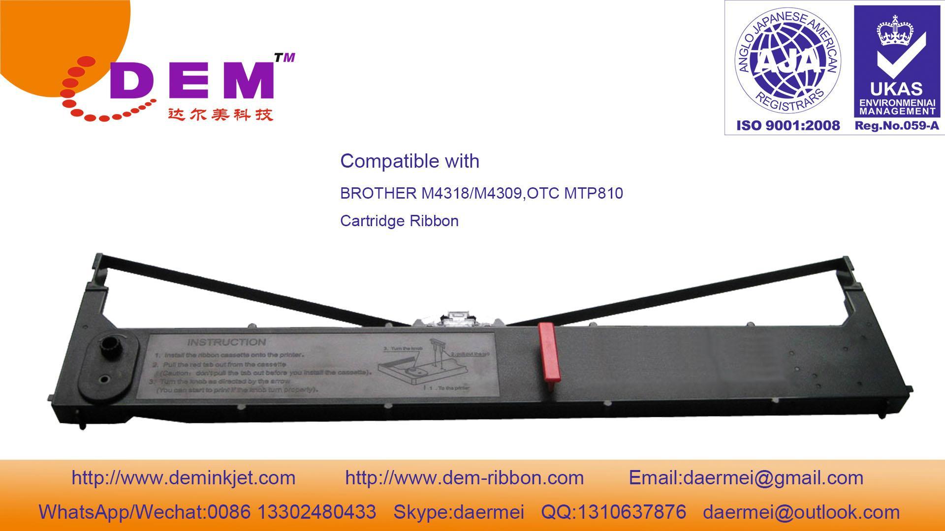 Brother M4318,M4309,M3824,4324,OTC MTP810,ALPS DMX800