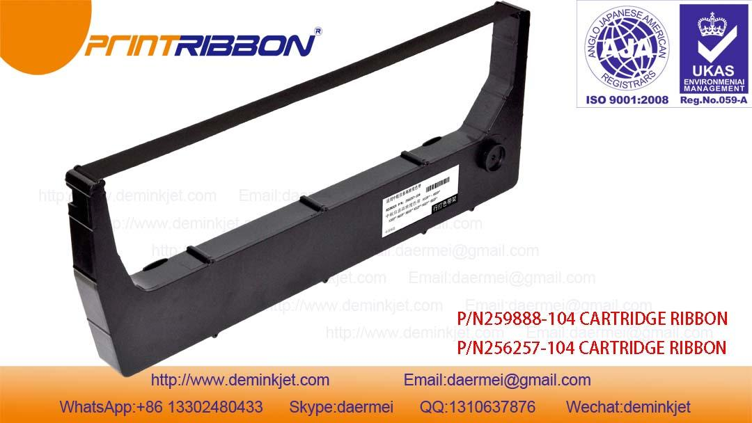 Compatible HP+,H-8P 256257-104,259888-104 CARTRIDGE RIBBON