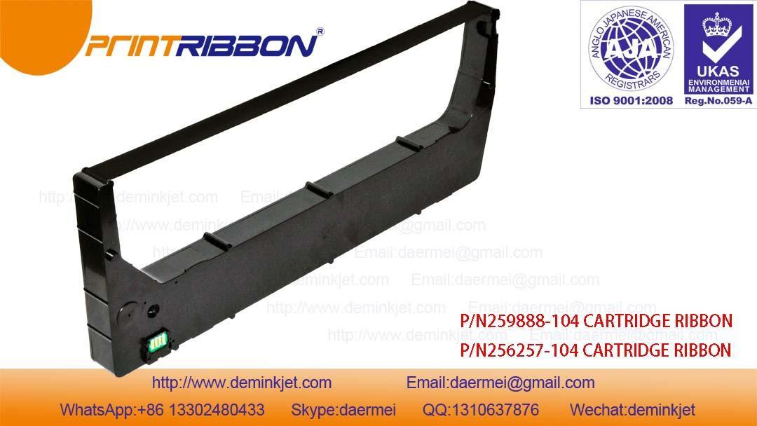 Compatible HP+,H-8P 256257-104,259888-104 CARTRIDGE RIBBON