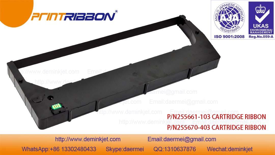 TallyGenicom 255661-103,255670-403 6800,6600 Cartridge ribbon 2
