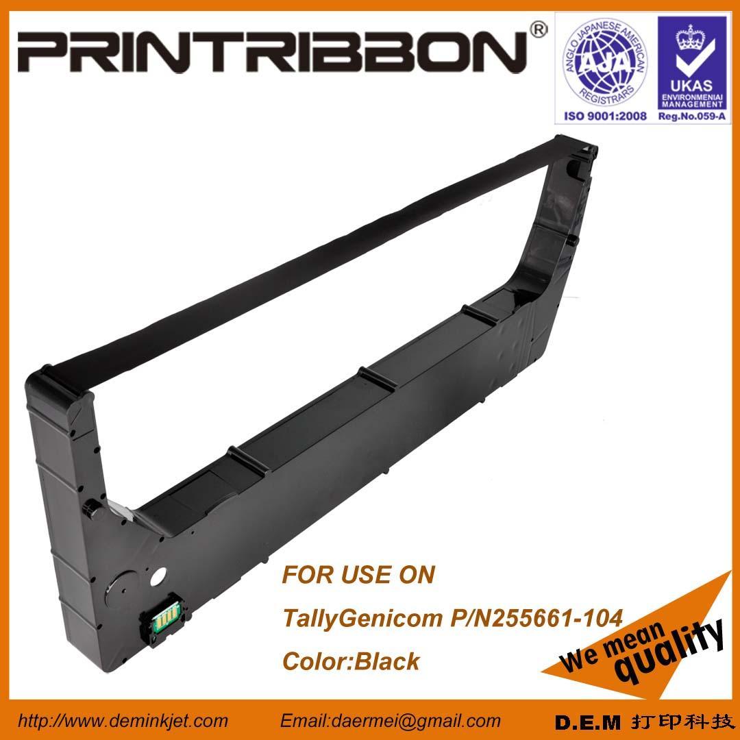 Compatible with TallyGenicom 255661-104,255661-404, 6800,6600 Cartridge ribbon