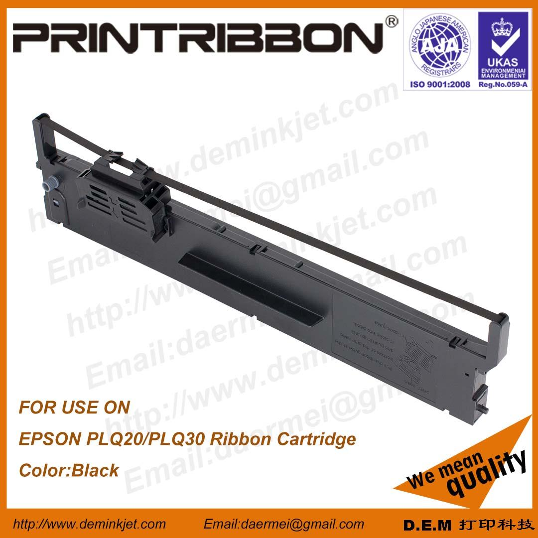 DEM EPSON PLQ-20/PLQ30/LQ90KP/S015339/S015593/S015592 RIBBON CARTRIDGE