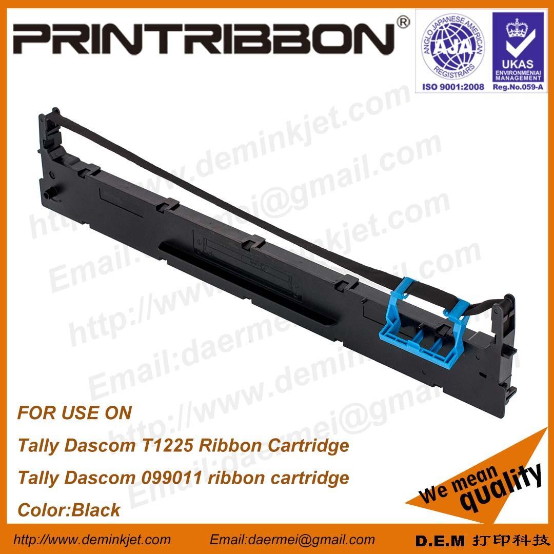 Model:TALLY DASCOM 99011,TALLY T1225, TALLY DASCOM 1225 RIBBON  Brand:D.E.M OR PRINTRIBBON  Production:OEM OR ODM  Color:BK  Spec:12.7MM*21M  Package:50PCS/ 51.5*49*43CM  NW:9.2KG  GW:13.5KG  For Printer Model:  TALLY DASCOM T1225