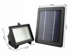 Solar garden lights with energy saving and home decorating