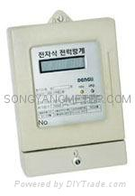 IC card prepaid energy meter