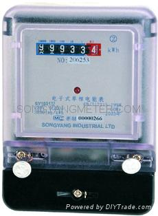 Single Phase Static Electrical Meter