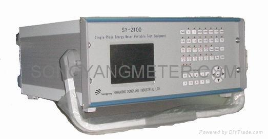 portable single phase energy meter test bench