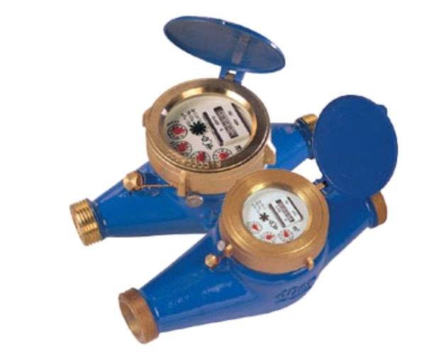 Rotary Vane Wheel Liquid-Sealed Water Meter
