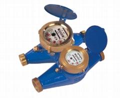 Rotary Vane Wheel Liquid-Sealed Water Meter