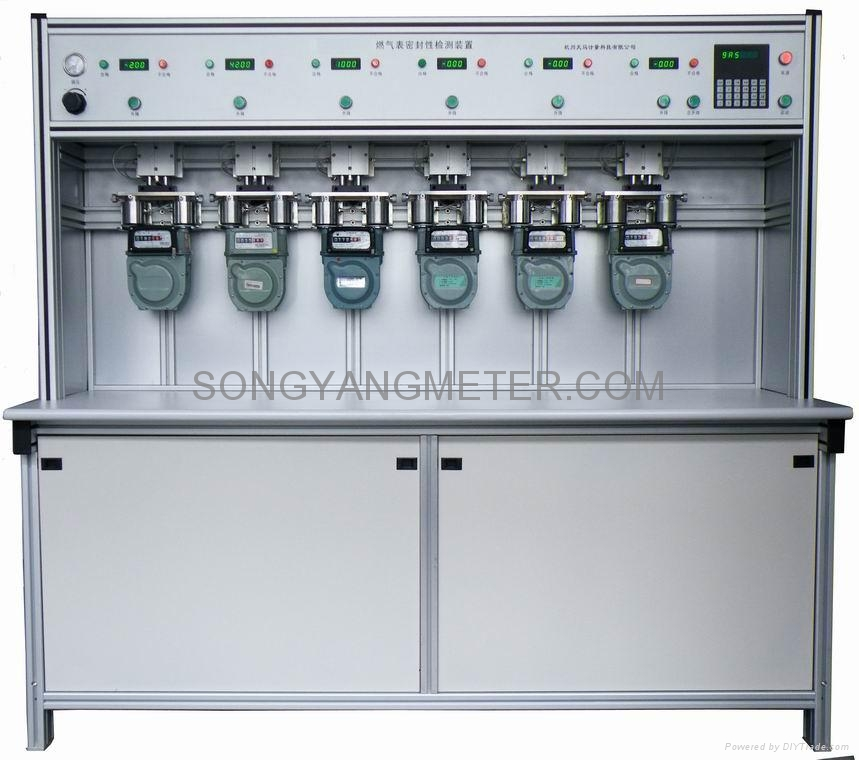 Gas Meter Gasproof Test Bench