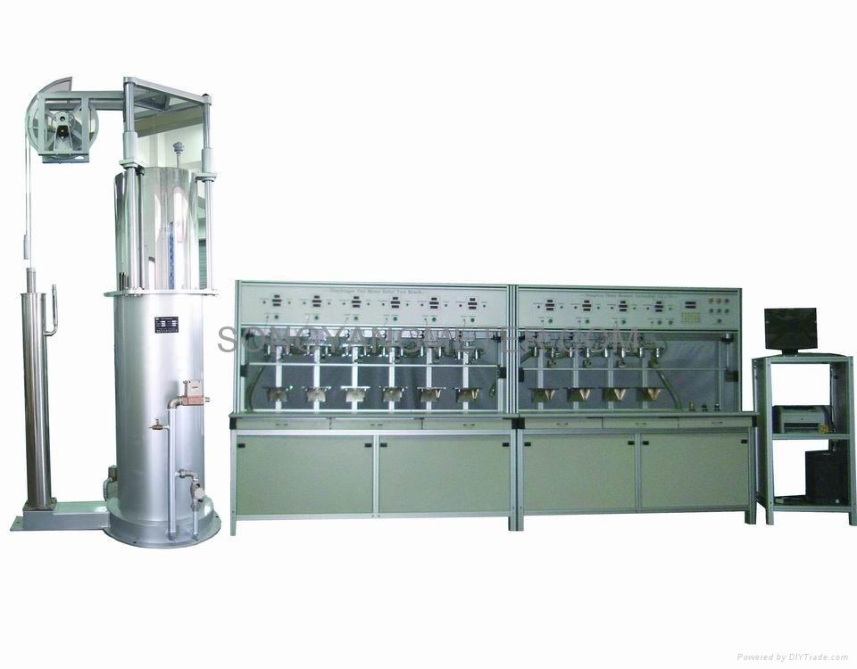 Electronics Test Bench : Gas meter synthetical test bench sy songyang