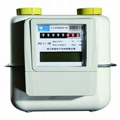 IC Card Prepaid Diaphragm Gas Meters