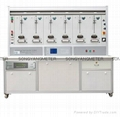 6 positions three phase energy meter testing bench