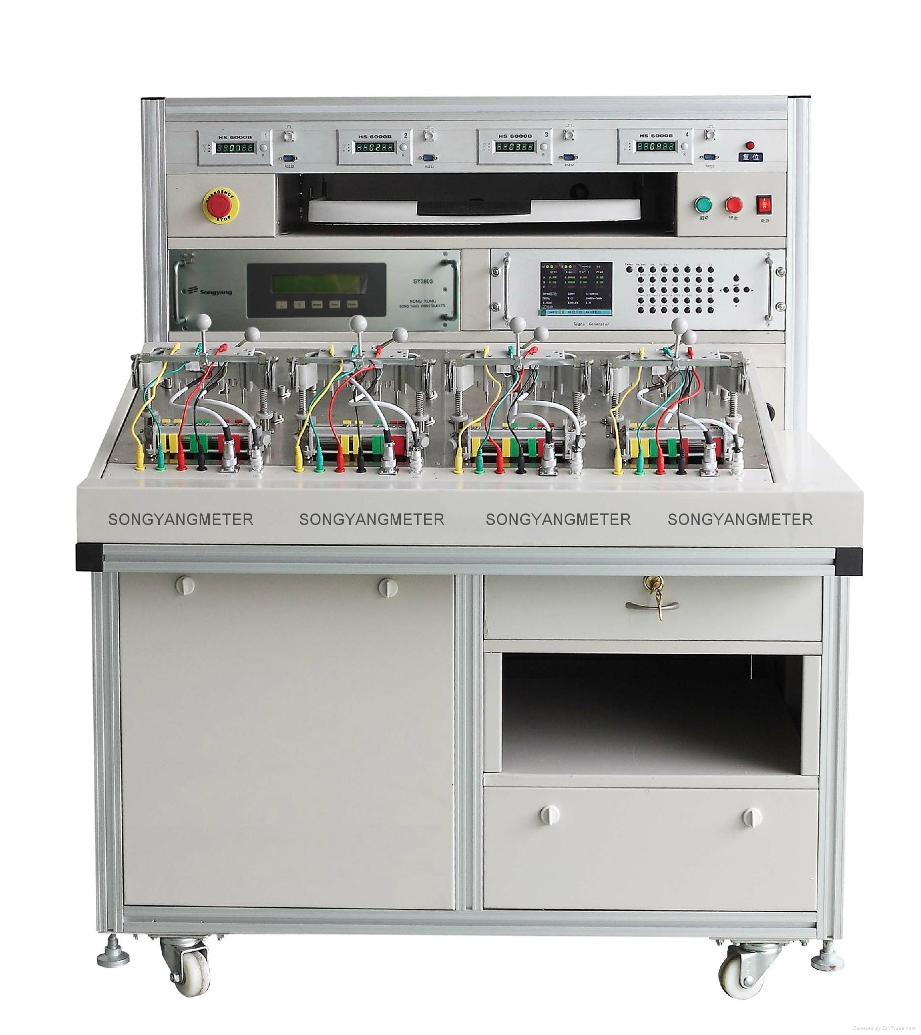 energy meter test bench multi functions