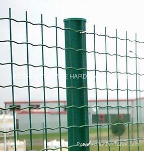Green Garden Fence 1