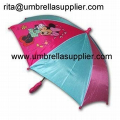 Cute Minnie Mouse Kid Size Umbrella-Kid Umbrella