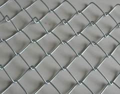 Hot sale PVC coated chain link wire mesh fence