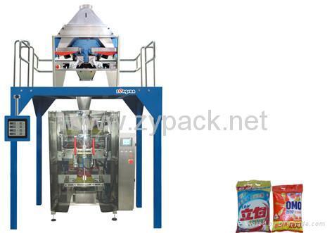 洗衣粉全自動包裝機組 1