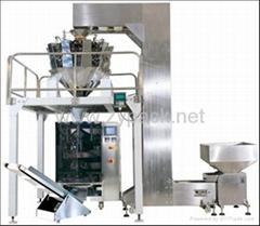 膨化食品全自动称量包装机,中药饮片包装机