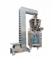 膨化食品专用全自动称量包装机