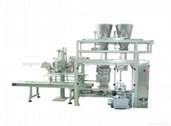 POWDER|FLOUR|ADDITIVES|CORN  MEAL BAG FEEDING PACKER