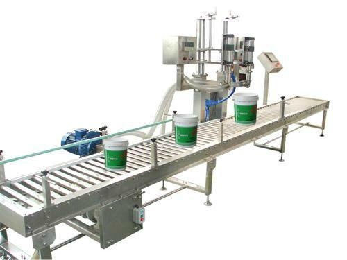 Paint filling line | coating packing machine 1