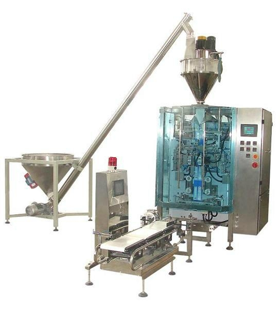 Automatic vertical box type bag packing machine  1