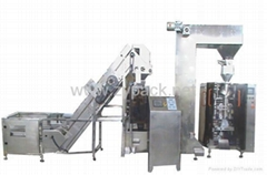 Vegetable vacuum packing machine