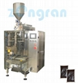 Pot bottom material packing machine