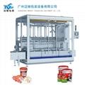 Coating filling machine