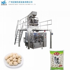 Quick frozen food packaging machinery
