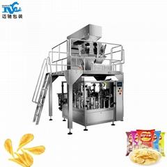 Potato chip packing machine