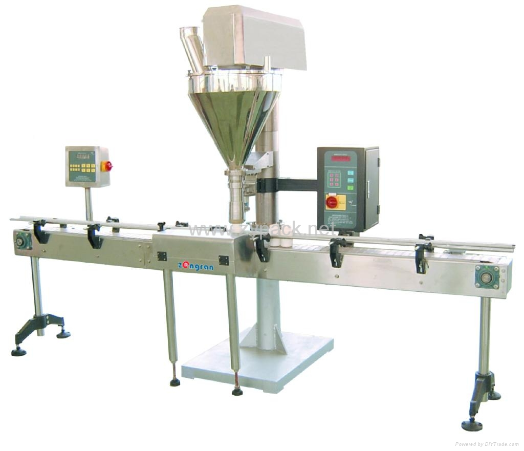 AUTOMATIC POWDER FILLING LINE 2