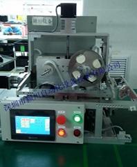 颍川手機彩盒貼標機轉角封口膠貼標機生產視頻1000件/小時