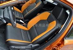 个性化汽车真皮座套1