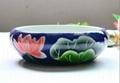 供应手工微雕陶瓷大缸 4