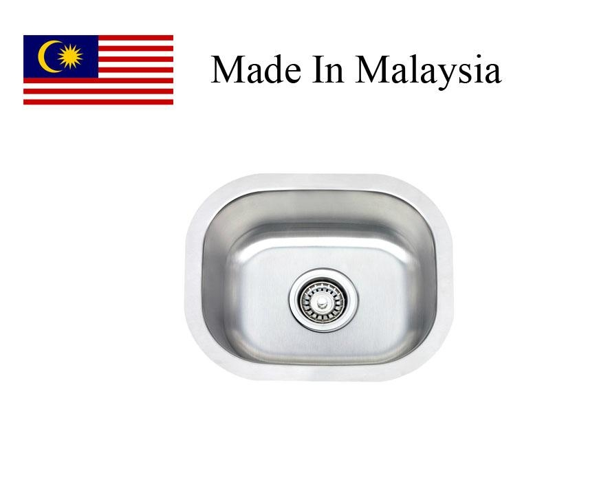 1512 CUPC  stainless steel kitchen sink  Made In Malaysia 1
