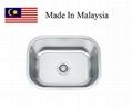2318 CUPC stainless steel kitchen sink
