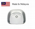 2421 CUPC stainless steel kitchen sink Made In Malaysia