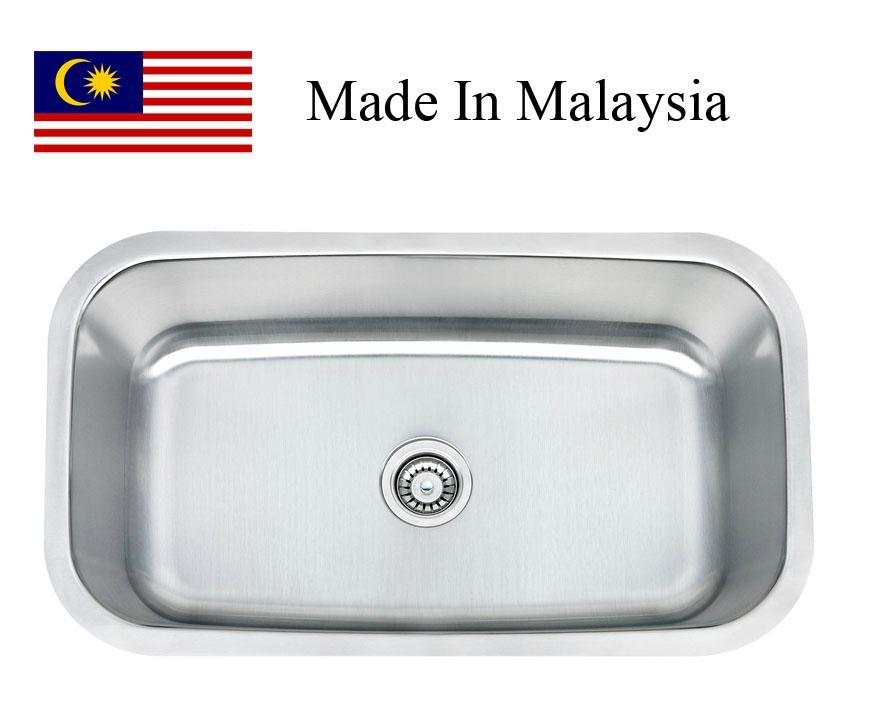3118 CUPC stainless steel single kitchen sink 1