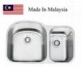 3121L (70/30) CUPC Malaysaia stainless steel kitchen sink