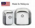 3121R  CUPC stainless steel undermount kitchen sink