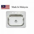 2522 CUPC stainless steel kitchen sink Made In Malaysia