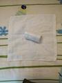 儿童用纯棉立体小方巾 3
