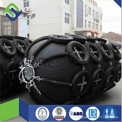 pneumatic rubebr fender for ship