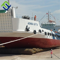 Ship launching rubber balloon airbags